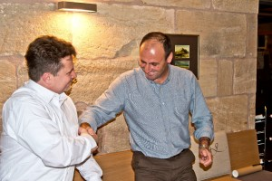 Unterzeichnung der Partnerschaftsurkunde/Signing the Partnership Charter - Bonsai Clube do Porto - Bonsaifreunde Franken e.V. - Mario Eusebio-Guido Braun