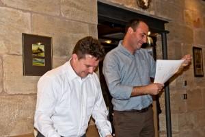 Unterzeichnung der Partnerschaftsurkunde Signing the Partnership Charter - Bonsai Clube do Porto - Bonsaifreunde Franken e.V. Mario Eusebio - Guido Braun